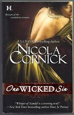 One Wicked Sin by Nicola Cornick (2010, Paperback)
