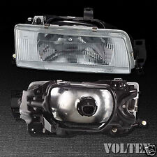 1988-1992 Toyota Corolla Headlight Lamp Clear lens Halogen Passenger Right Side