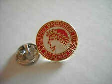 a1 OLYMPIAKOS FC club spilla football calcio ποδόσφαιρο  pins grecia greece