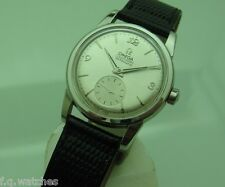 OMEGA SEAMASTER 2846 AUTOMATIC 34mm Cal. 490 VERY RARE STEEL VINTAGE WATCH