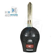 Replacement 4 BOTTON Remote Key Fob Keyless Entry For Nissan 2003-2006 350Z