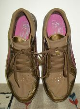 "Women's Puma """"Lift"" Racer Brown/Fuscia Lightweight Running Shoe Sz. 9.5 MINT!"