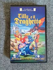 LE GRANDI SOTRIE ANIMATE - TILLY E IL DRAGHETTO  (VHS)