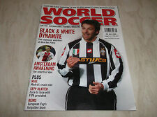 Football Magazine World Soccer May 2003 Reims Thierry Henry Sepp Blatter Seedorf