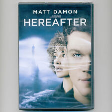 Hereafter 2010 Spielberg movie DVD Matt Damon, Cécile de France, tsunami, death