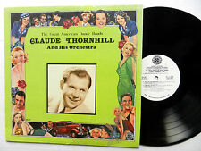 CLAUDE THORNHILL Great American Dance Bands LP