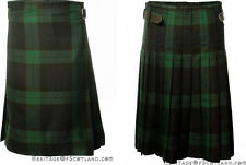 Great Gift: 5 Yard Men's Tartan Party Kilt Polyviscose Multiple Colours & Sizes