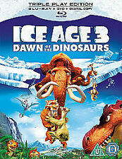 ICE AGE 3 - DAWN OF THE DINOSAURS - BLU RAY - NEW / SEALED