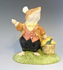 "Royal Doulton - DBH31 Lord Wood Mouse 2000 - 4 2/8"" H  (#689)"