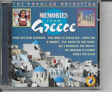 MEMORIES FROM GREECE POPULAR ORCHESTRA CD