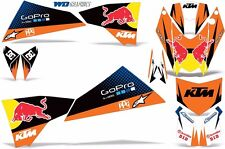 KTM 450/525 Graphic Kit Quad Decals Wrap Accessories Parts SX/XC ATV 2008-2011 R