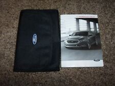 2013 Ford Taurus Owner Operator User Guide Manual SE SEL Limited SHO 2.0L 3.5L