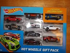 HOT WHEELS, 9 CAR GIFT PACK, CAMARO, JAVELIN, MUSTANG, NEW IN BOX, 2014