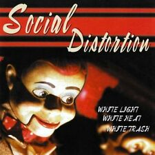 SOCIAL DISTORTION - WHITE LIGHT, WHITE HEAT, WHITE TRASH LP (1996) + INSERT