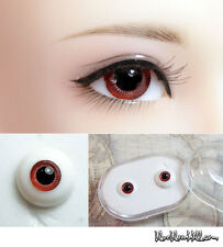 1/3 1/4 1/6 bjd 14mm red glass doll eyes with box super dollfie #EB-14