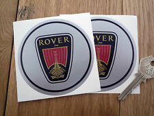 ROVER Classic Viking Longboat style 90mm diam stickers