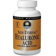 Hyaluronic Acid - 60 - 50mg Tablets by Source Naturals Skin Eternal + Collagen