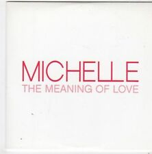 (FI660) Michelle, The Meaning of Love - 2004 DJ CD