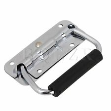 Stainless Steel Spring Folding Pull Handle for Cabine Kitchen Drawer Door