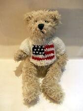 Collection bear American flagg - long hair bear