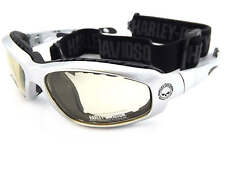 HARLEY DAVIDSON switchable GLIDE sunglasses SILVER/ Day 2 Night HDSZ 909 SI-D2N