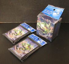 Pokemon Card XY Mega Rayquaza Sleeve 2 Packs (64) +  Deck Case Set