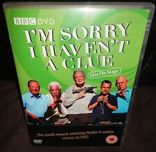 I'm Sorry I Haven't A Clue Live - Live On Stage (DVD, 2008)