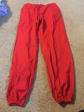 Nice women's size S Small Melrose brand red scrubs pants bottoms medical