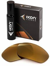Polarized IKON Replacement Lenses For Ray Ban RB2027 Predator 2 (62MM) 24K Gold