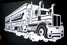 high detail airbrush stencil outback truck two  FREE UK POSTAGE