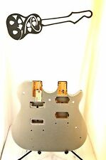 #4493 Gretsch G5566 Jet Double Neck Electric Guitar Project Body Husk Sparkle