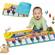 Amazing Baby Play Crawling Mat Touch Electronic Piano Keyboard Music Carpet Toys