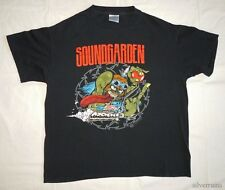 SOUNDGARDEN Vintage T Shirt 90's Tour Concert 1991 Badmotorfinger GRUNGE Hot Rod
