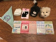 American Girl Doll Best Friends Licorice cat and Coconut dog plus accessories
