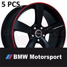 BMW Motorsport Door Handle Wheel sticker decal 3-5 Series M3 M5 M6 X5 X6
