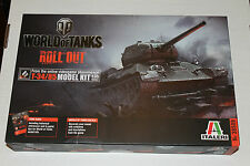 ITALERI #38509 1/35 World of Tanks Roll out Russian T-34/85 WOT