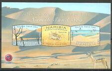 Namibia - Namibisches Dünenmeer postfrisch 2015 Block 87  Mi.1501/03