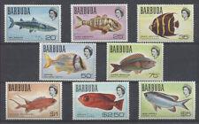 POISSON Barbuda 8 val de 1968/70 ** que les poissons de la série