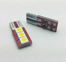W5W T10 501 1X3 SIDELIGTS SMD LED CAN BUS OBC ERROR FREE bulbs E