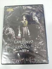 EL LABERINTO DEL FAUNO DVD GUILLERMO DEL TORO ESPAÑOL ENGLISH NEW SEALED NUEVA!