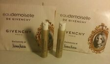 2 Eaudemoiselle de Givenchy Eau de Toilette Sample Spray Vial