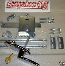 Garage Door Lock Set  1 Car Door Torsion or Extension Spring
