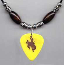 Chris LeDoux Signature Bucking Horse and Rider Guitar Pick Necklace 2003 Tour