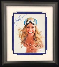 JAMIE ANDERSON SIGNED FRAMED 8X10 PHOTO ESPN BODY NAKED NUDE SEXY PSA/DNA COA