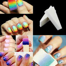 8pcs Magic Nail Art Sponge Stamp Stamping Polish Transfer DIY Manicure Tools New