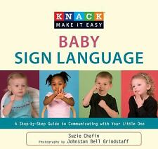 Knack Baby Sign Language: A Step-By-Step Guide To Communicating With Y-ExLibrary