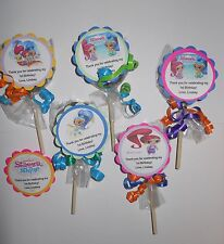 12 Shimmer and Shine 1st 2nd 3rd 4th 5th 6th Birthday Favors Chocolate Oreo Pops