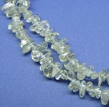 "36"" NATURAL Lemon Quartz Chips ~160 Beads 7mm K3968"