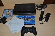 PS 3 500GB super slim mit Play Station Move und  Sports Champions 2
