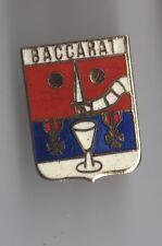 Pin's blason de la ville de Baccarat (Meurthe et Moselle)